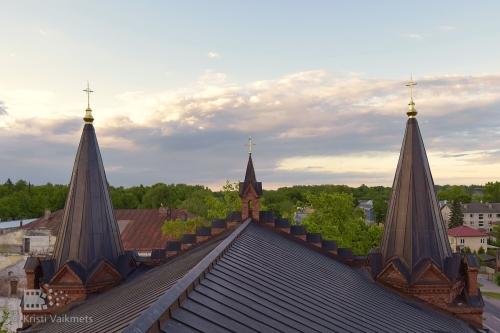 vaade tartu linnale eelk tartu peetri kirikust fotokaader