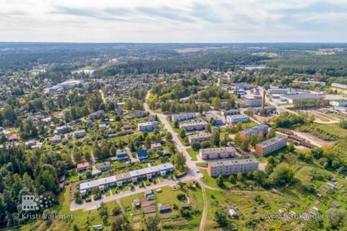 droonifotod linnavaated pildistamine drooniga Elva Tartumaa