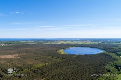 droonifotod pildistamine drooniga Rummu järv