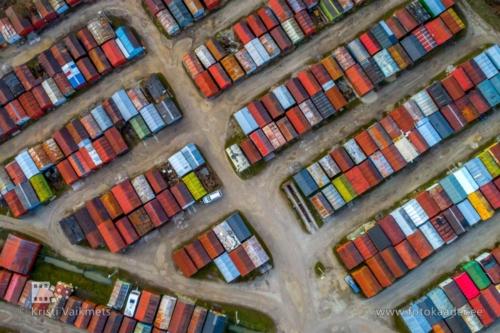 droonifotod pildistamine drooniga Tartus garaažid