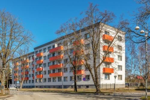 kortermaja välisfassaadi pildistamine Ristiku 62 Tallinn