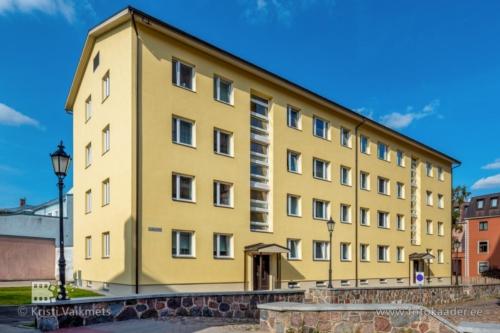kortermaja välisfassaadi pildistamine kortermaja renoveerimine Lutsu 16 Tartu