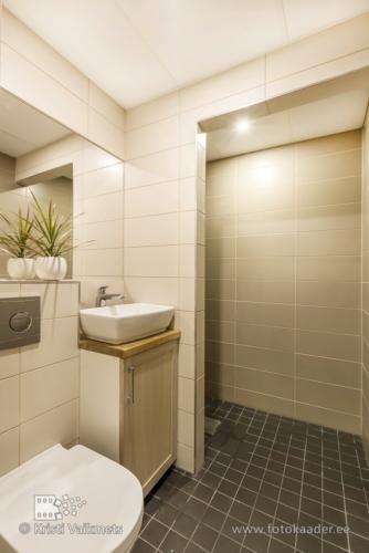 kinnisvarafoto eluruumi vannitoa pildistamine